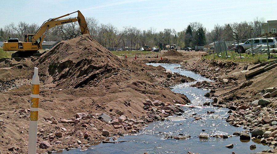Fourmile Creek Flood Repair